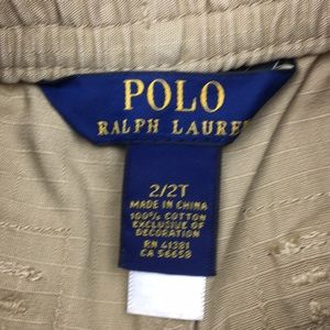 290c676c0 Polo by Ralph Lauren Bottoms - RL Polo Khaki Jogger Pants NWT Toddler